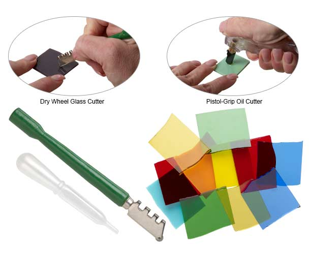 Tutorial Cutting Glass With Glass Cutting Tools Fire