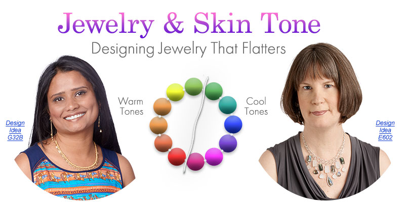 jewelry making article jewelry and skin tone designing