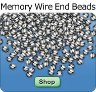 Wire End Bead Caps in Bulk