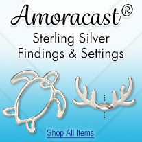 Amoracast Sterling Silver Findings and Settings