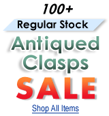 Antiqued Clasps Sale