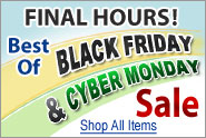 Best-Of Black Friday and Cyber Monday Sale - Final Hours
