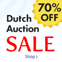 Dutch Auction - 70% Off