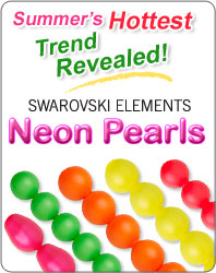 Summer's Hottest Jewelry-Making Trend - SWAROVSKI ELEMENTS Neon Pearls