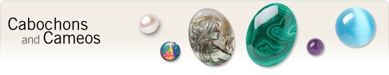 Cabochons and Cameos