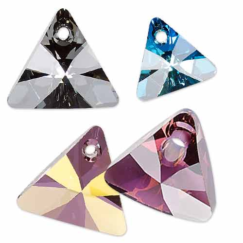 Xilion Triangle Pendant - Article no. 6628 - SWAROVSKI ELEMENTS for Fall/Winter 2014-15