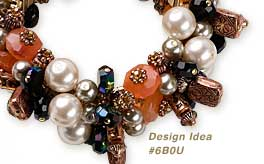 View Design Idea featuring Glass-Based Pearls and other Components