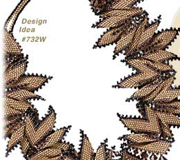 View Design Idea Featuring Earth-Toned Seed Beads