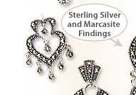 Shop for Sterling Silver with Marcasite Findings