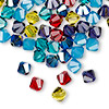 Bead, Swarovski crystal, Crystal Passions®, Candy, 6mm Xilion bicone (5328). Sold per pkg of 144 (1 gross).