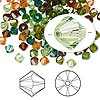 Bead, Swarovski crystal, Crystal Passions®, Forest, 4mm Xilion bicone (5328). Sold per pkg of 48.