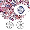 Bead, Swarovski crystal, Crystal Passions®, Love Struck, 4mm Xilion bicone (5328). Sold per pkg of 144 (1 gross).