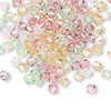 Bead, Swarovski crystal, Crystal Passions®, Tenderness, 4mm Xilion bicone (5328) and faceted bicone (5301). Sold per pkg of 144 (1 gross).