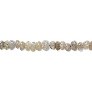 Bead, labradorite (natural), 4x1mm-5x3mm hand-cut saucer, C- grade, Mohs hardness 6 to 6-1/2. Sold per 13-inch strand.