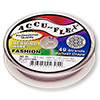 Beading wire, Accu-Flex®, blush pink, 49 strand, 0.024-inch diameter. Sold per 30-foot spool.