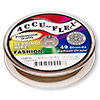 Beading wire, Accu-Flex®, metallic copper, 49 strand, 0.014-inch diameter. Sold per 100-foot spool.