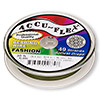Beading wire, Accu-Flex®, nylon and stainless steel, khaki, 49 strand, 0.014-inch diameter. Sold per 30-foot spool.