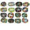 Bracelet mix, glass, multicolored, 7-inch stretch seed bead. Sold per pkg of 16.