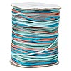 Cord, Satinique™, satin, southwest, 1.5mm small. Sold per 432-foot spool.