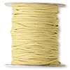 Cord, faux suede lace, tan, 3x1mm. Sold per 100-yard spool.