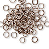 Jumpring, aluminum, bronze, 5.5mm round, 18 gauge. Sold per pkg of 100.
