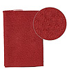 Leather scrap, red, approximately 9-1/4x3-1/2 inches. Sold individually.