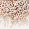 Seed bead, Delica®, glass, opaque rainbow mocha, (DB1505), #11 round. Sold per pkg of 7.5 grams.