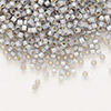 Seed bead, Delica®, glass, silver-lined opal periwinkle, (DB1455), #11 round. Sold per pkg of 7.5 grams.