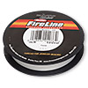 Thread, Berkley® FireLine® Crystal™, gel-spun polyethylene, crystal, 0.10mm diameter, 3-pound test. Sold per 125-yard spool.