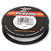 Thread, Berkley® FireLine® Crystal™, gel-spun polyethylene, crystal, 0.15mm diameter, 6-pound test. Sold per 125-yard spool.