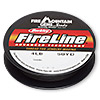 Thread, Berkley® FireLine® Crystal™, gel-spun polyethylene, smoke, 0.13mm diameter, 4-pound test. Sold per 50-yard spool.