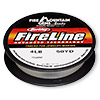 Thread, Berkley® FireLine®, gel-spun polyethylene, crystal, 0.13mm diameter, 4-pound test. Sold per 50-yard spool.