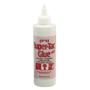 adhesive, helmar, super-tac. sold per 8.45-fluid ounce bottle.