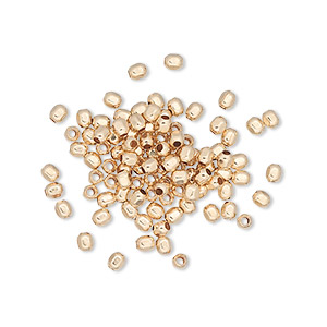 bead, 12kt gold-filled, 2.5mm faceted round with 0.6mm hole. sold per pkg of 100.