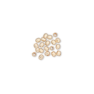 bead, 12kt gold-filled, 2.5mm faceted round with 0.6mm hole. sold per pkg of 20.