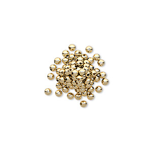 bead, 14kt gold-filled, 2mm smooth round. sold per pkg of 20.