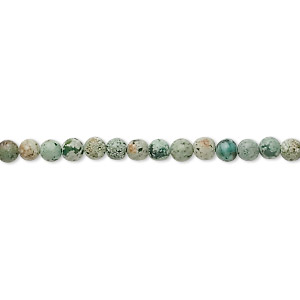bead, african turquoise (dyed), 3mm round, c grade, mohs hardness 6-1/2 to 7. sold per 16-inch strand.