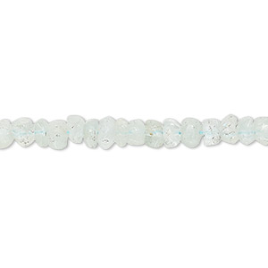 bead, aquamarine (heated), 4x2mm-5x4mm hand-cut faceted rondelle, d grade, mohs hardness 7-1/2 to 8. sold per 13-inch strand.