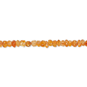 bead, carnelian (dyed / heated), light, 4x2mm-5x3mm hand-cut faceted rondelle, c- grade, mohs hardness 6-1/2 to 7. sold per 13-inch strand.
