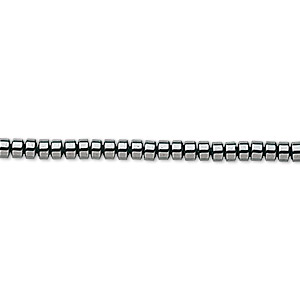 bead, hemalyke™ (man-made), 3x2mm rondelle. sold per 16-inch strand.