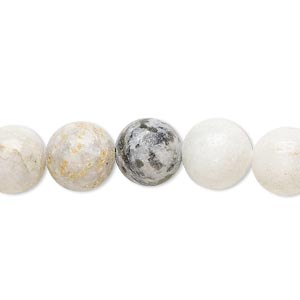 bead, multi-new jade (natural), 10-11mm round, c- grade, mohs hardness 2-1/2 to 6. sold per 15-inch strand.