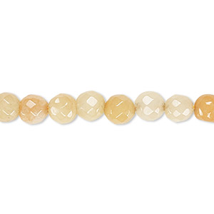 bead, multi-quartz (dyed), 5-6mm faceted round, c grade, mohs hardness 7. sold per 15-inch strand.