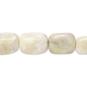 bead, peridot jasper (natural), small to medium tumbled nugget, mohs hardness 2-1/2 to 6. sold per 15-inch strand.