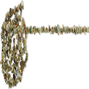 bead, rhyolite (natural), light to dark, medium chip, mohs hardness 6-1/2 to 7. sold per 36-inch strand.