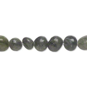 bead, saguaro jasper (natural), small to medium pebble and small chip, mohs hardness 2-1/2 to 6. sold per 15-inch strand.