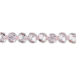 bead, swarovski crystals, cantaloupe, 6mm faceted round (5000). sold per pkg of 360.