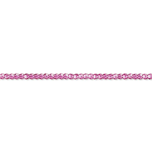 bead, swarovski crystals, crystal passions, fuchsia, 2mm faceted round (5000). sold per pkg of 144 (1 gross).