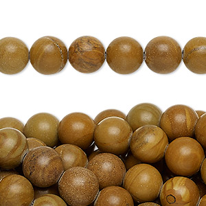 bead, tigerskin jasper (natural), 8mm round, c grade, mohs hardness 4 to 5. sold per pkg of (10) 16-inch strands.