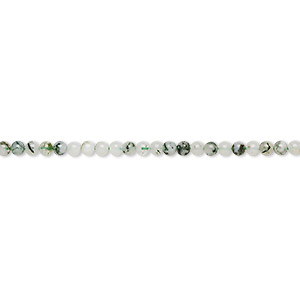 bead, tree agate (natural), 2mm round, b grade, mohs hardness 6-1/2 to 7. sold per 16-inch strand.