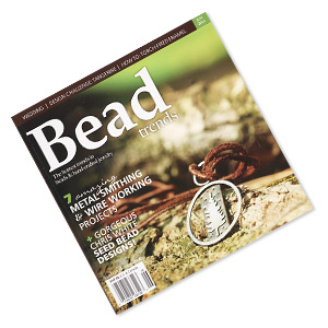 book, 7 amazing metal smithing  wire working projects by bead trends magazine. sold individually. limit 1 per order.